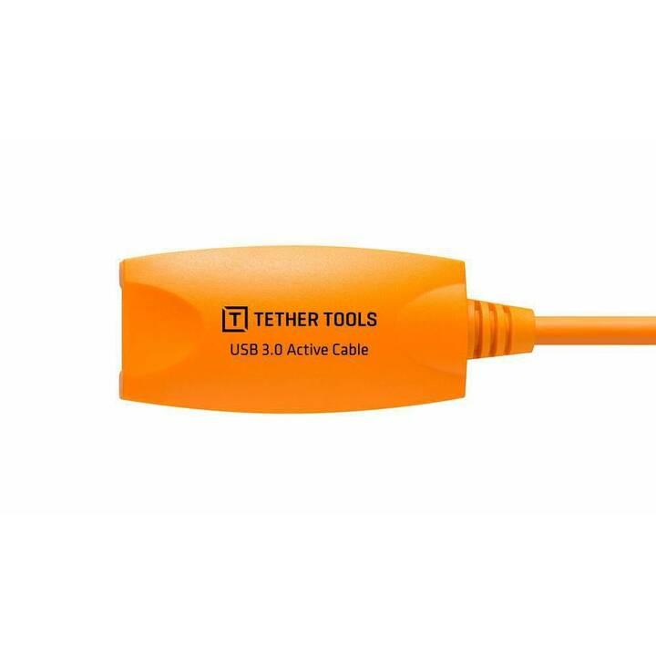 TETHER TOOLS TetherPro Active Extension Cavo di giunzione (Arancione)