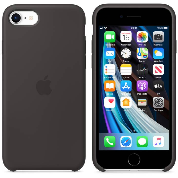 APPLE Backcover MXYH2ZM/A (iPhone SE, Nero)