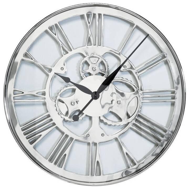KARE Gear Orologio da parete analogico (60 cm, Argento)