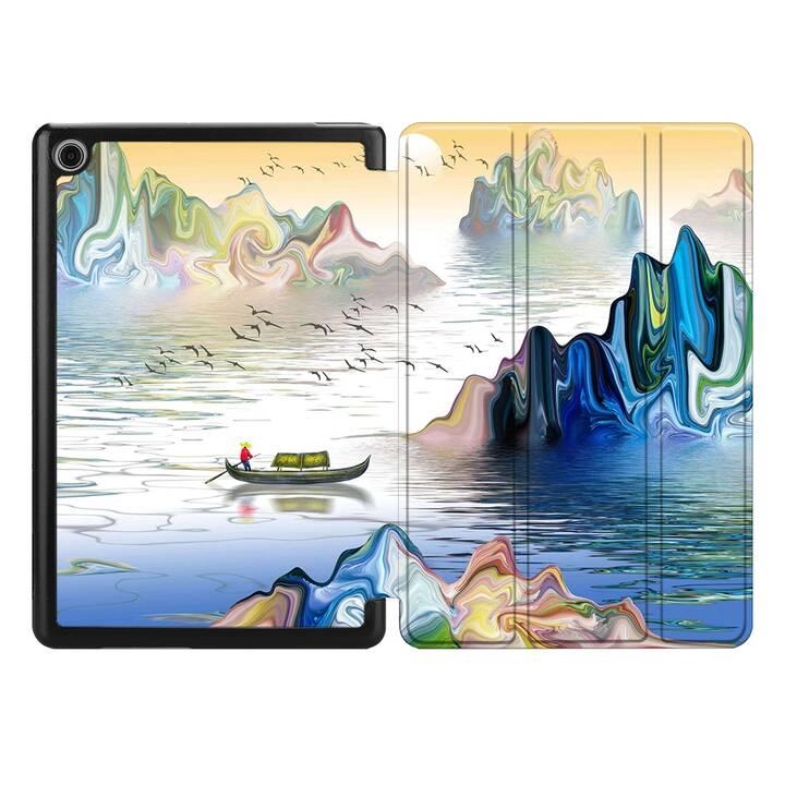 "EG MTT étui pour HUAWEI MediaPad T3 10 9.6"" 2017 - peinture"