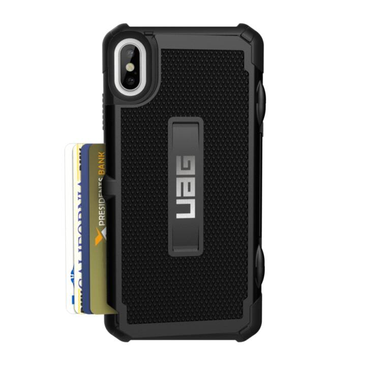 URBAN ARMOR GEAR Trooper iPhone XS Max Abdeckung, Schwarz