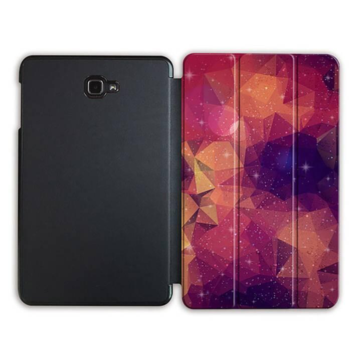 """EG MTT Sacoche à comprimés avec housse Smart pliable pour Samsung Galaxy Tab A 10.1"""" (2016) A6 - Orange"""