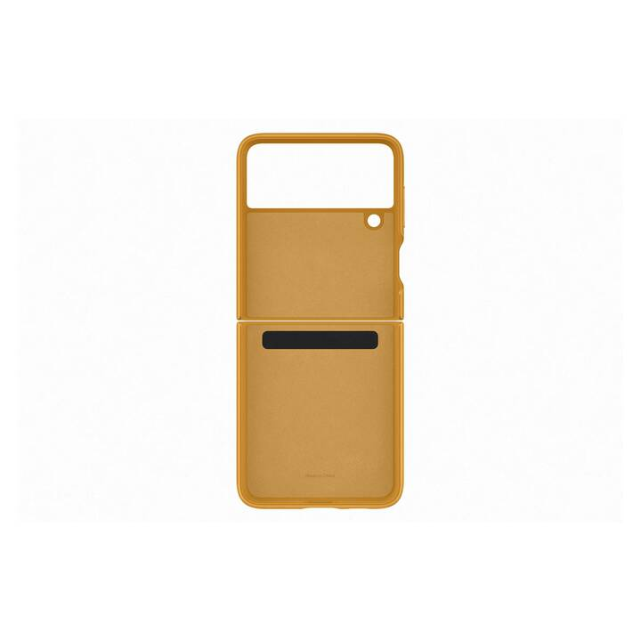 SAMSUNG Backcover EF-VF711 (Galaxy Z Flip 3, Gelb)