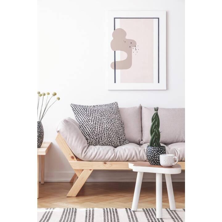 KARUP DESIGN Bebop Divano letto (Poliestere, Lino, Oro verde oliva, 174 cm x 80 cm)