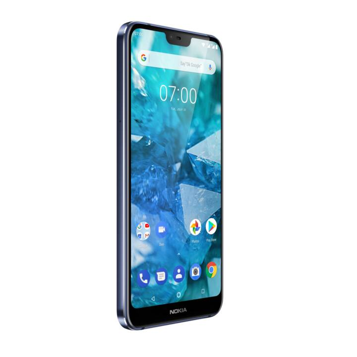 "NOKIA 7.1 (5.8"", 32 GB, 12 MP, Bleu nuit)"