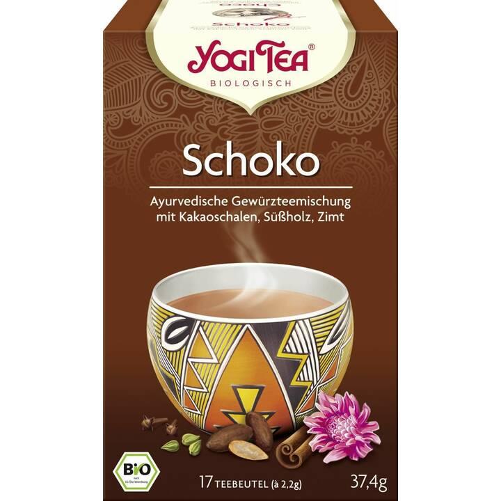 YOGI TEA Schoko Aztec Spice Thé épicé (Thé en sachet, 17 pièce)