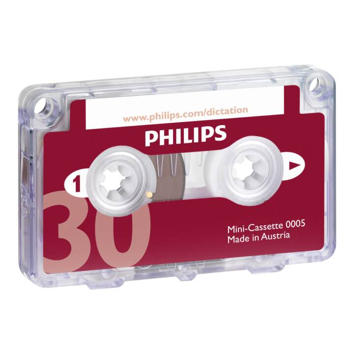 PHILIPS Mini cassette, 30 min, 10 pcs.