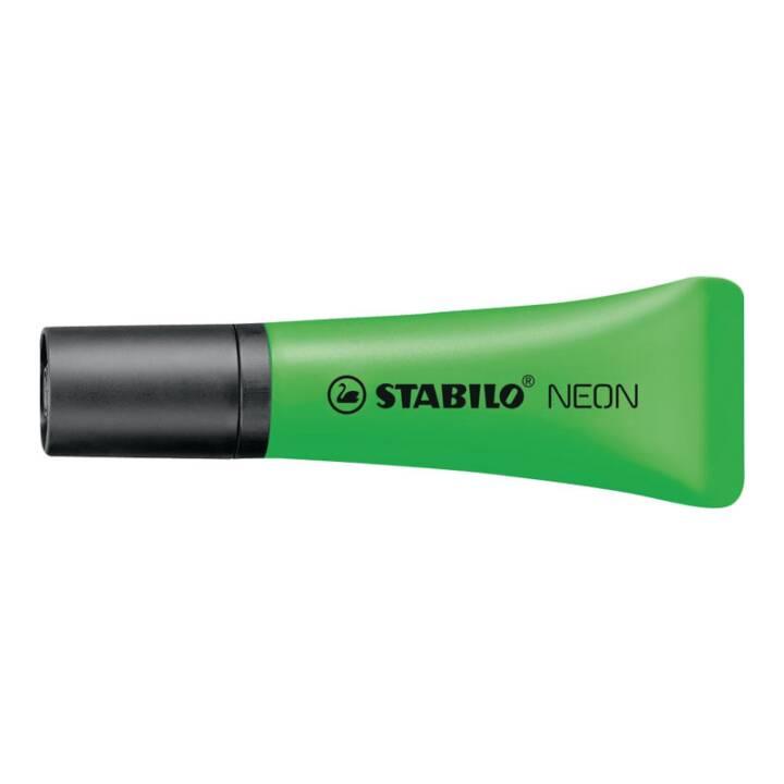 STABILO Evidenziatore Neon (Verde, 1 pezzo)