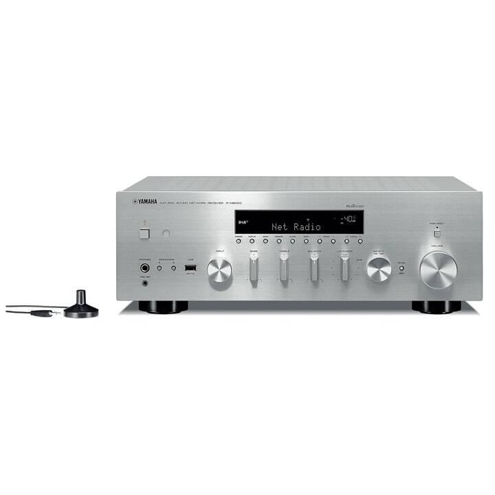 YAMAHA R-N803 (Netzwerk-Receiver, Silber)
