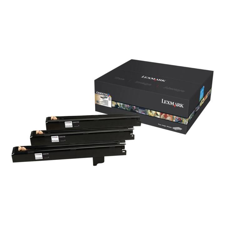 LEXMARK C930X73G Unité de mise en image de l'imprimante (Jaune, Cyan, Magenta)