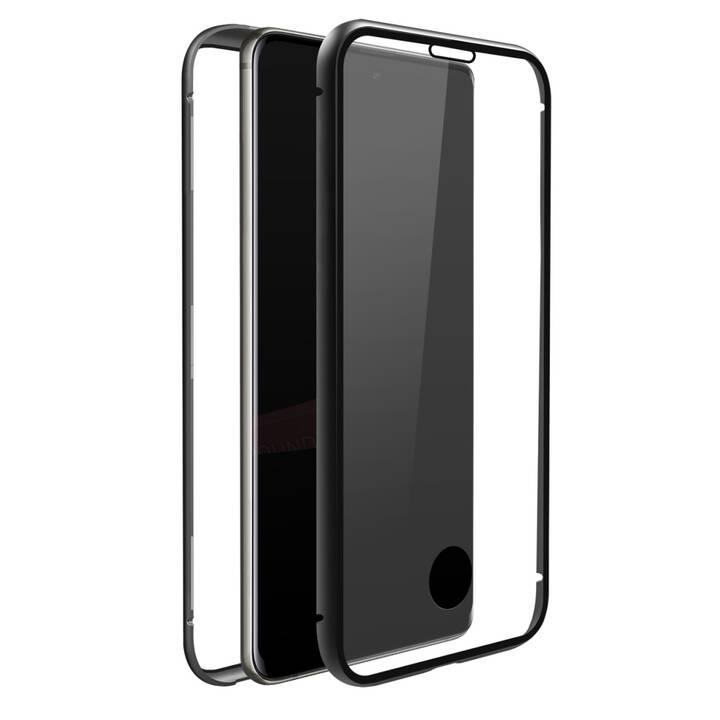 BLACK ROCK Backcover 360° Glass (Galaxy S20, Nero, Transparente)