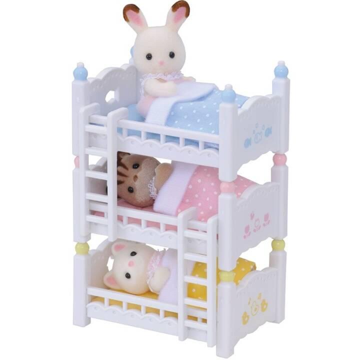 SYLVANIAN FAMILIES Lit bébé loft de trois étages