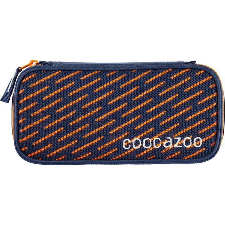 COOCAZOO Schlamperetui (Blau, Orange)