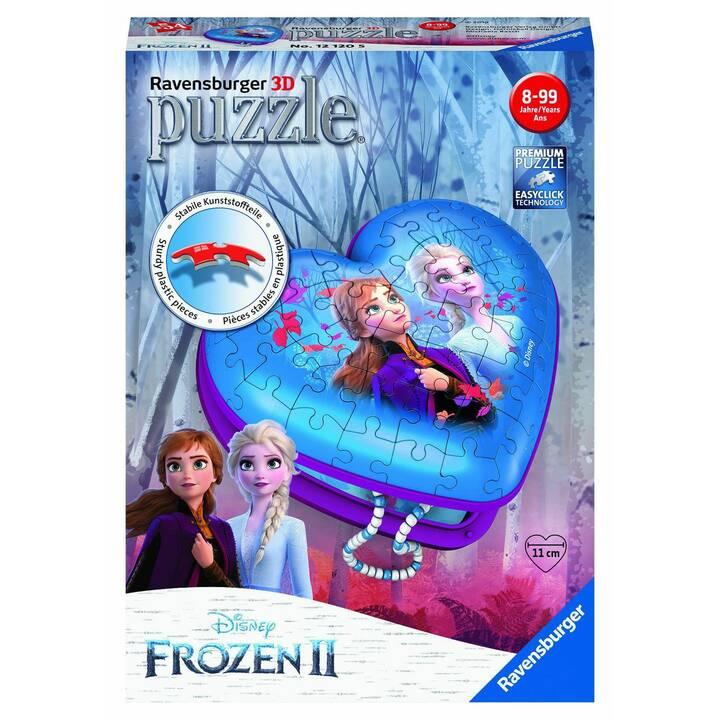 RAVENSBURGER Frozen 2 Girly Edition Herz (54 Stück, 2D Puzzle)