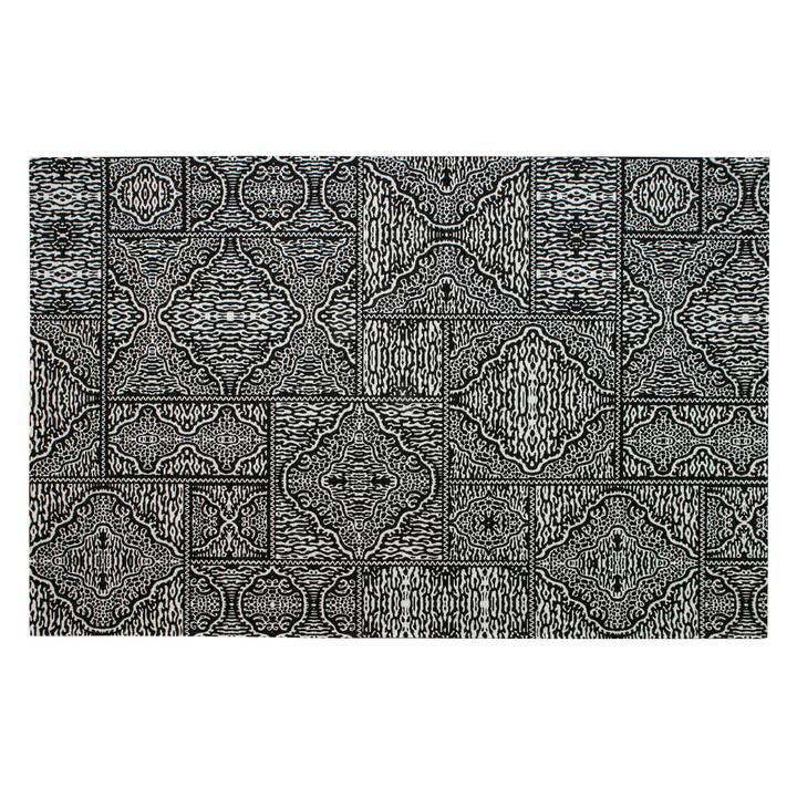 MUTONI CASUAL Tappeto Renna (200 cm x 300 cm, Bianco, Nero)