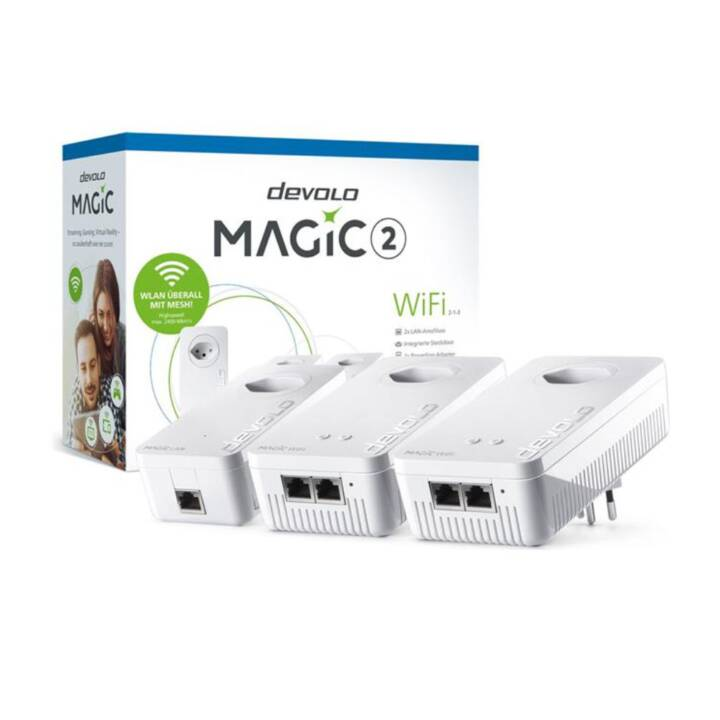 DEVOLO Magic 2 WiFi Multiroom Kit 2-1-3 (867 Mbit/s)