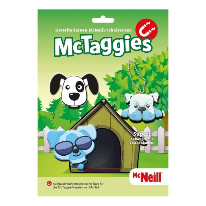 McNeill MCTaggies Dog 2 Tags und 1 Tasch
