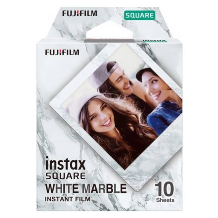 FUJIFILM Instax Square White Marble Pellicule instantané (Blanc)