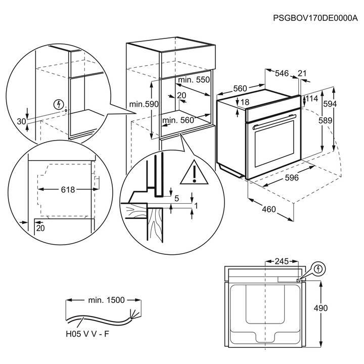 ELECTROLUX EB6SL80QCN
