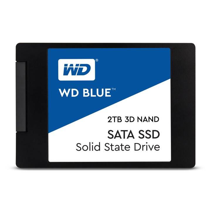 WESTERN DIGITAL WDS200T2B0A (SATA-III, 2 TB, Blanc, Bleu, Noir)