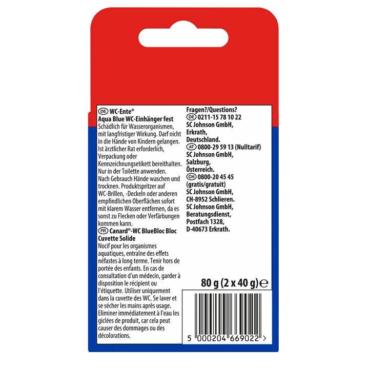 WC-ENTE Detergente per WC Aqua Blue (80 g)