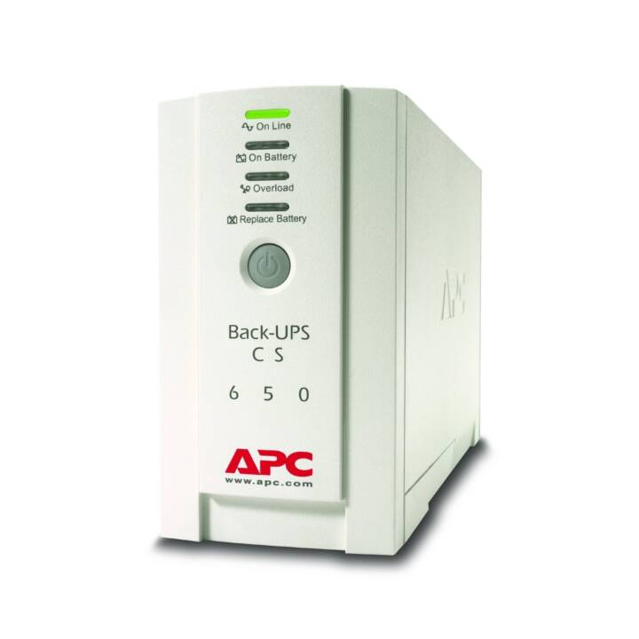 APC Alimentation sans interruption ASI (650 VA, 400 W, Offline)
