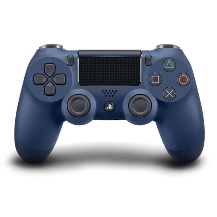 SONY PS4 DualShock 4 (Midnight Blue, Import)