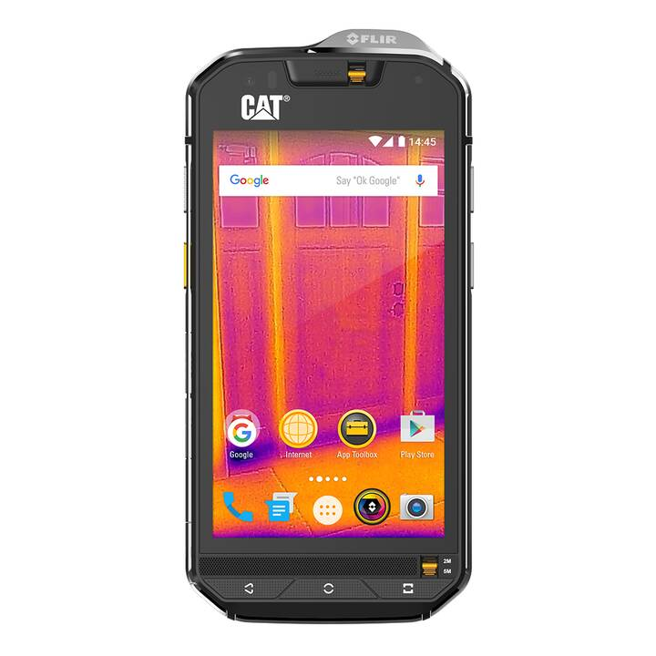 "CATERPILLAR CAT S60 (4.7"", 32 GB, 13 MP, Silber, Schwarz)"