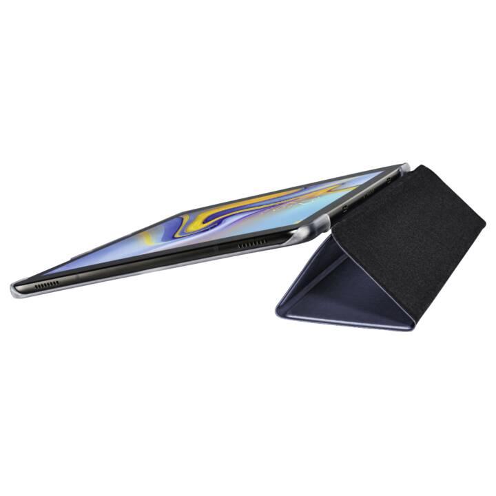 """HAMA Etui à comprimés transparent pliable pour Samsung Galaxy Tab A 10,5"""", bleu foncé"""