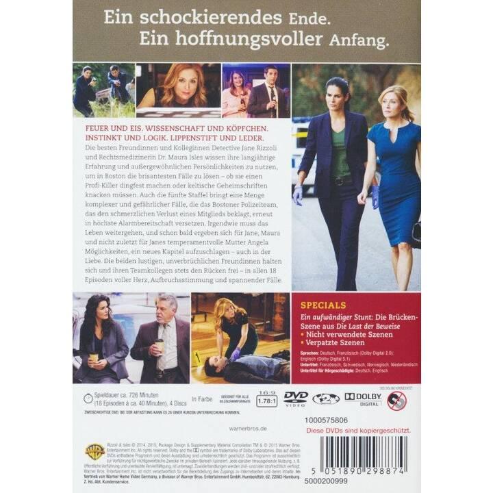 Rizzoli & Isles Saison 5 (DE, EN, FR)