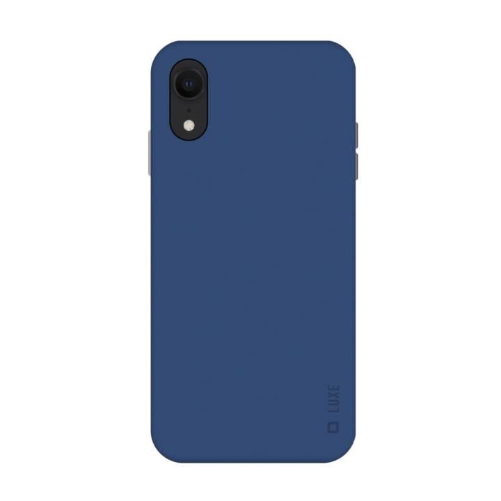 SBS Backcover Luxe (iPhone XR, Blau)