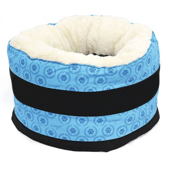 SWISSPET Schlafplatz Maxi Donut Pawi (Blau)