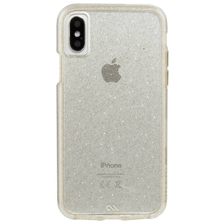 CASE-MATE Backcover (iPhone X, Transparent)