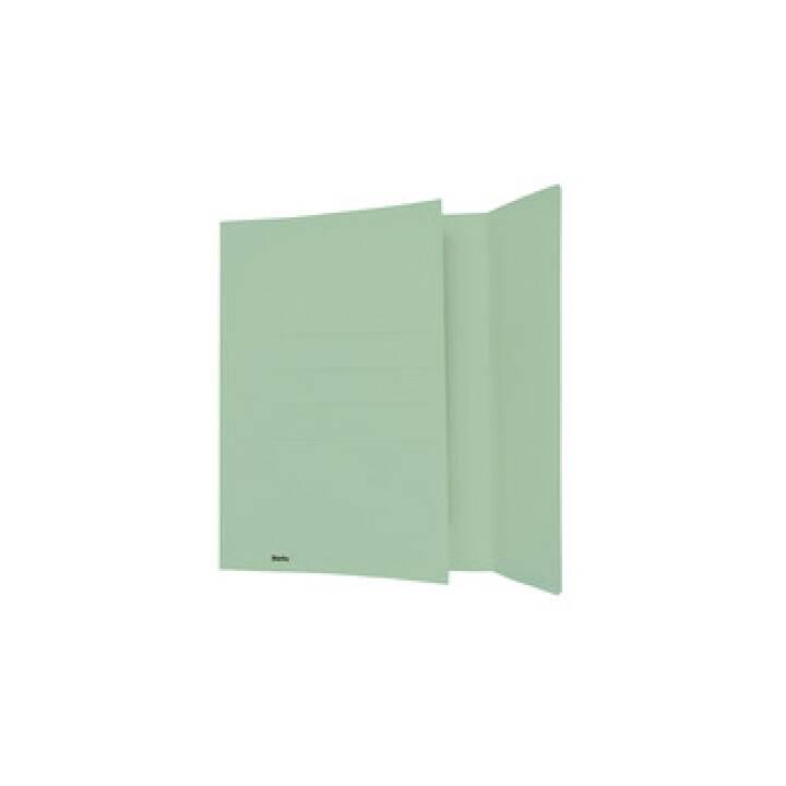 BIELLA chemises à insérer, A4, vert, 50 pcs.