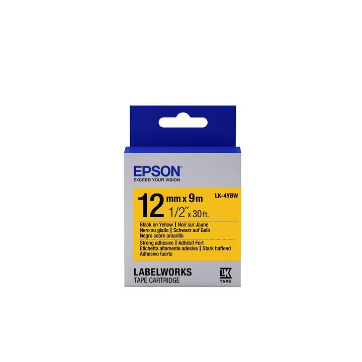 EPSON LK-4YBW Etiketten (1,2 cm x 9 m)