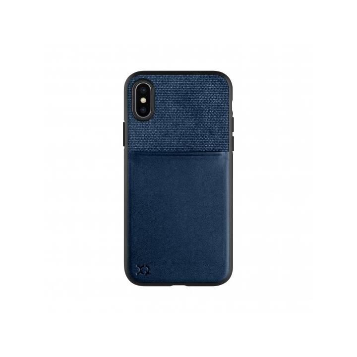 """Porte-cartes XQISIT 5.8"""" Couverture Bleu"""