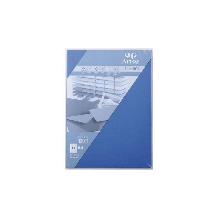 ARTOZ Biglietto in bianco (Universale, A4, Blu)