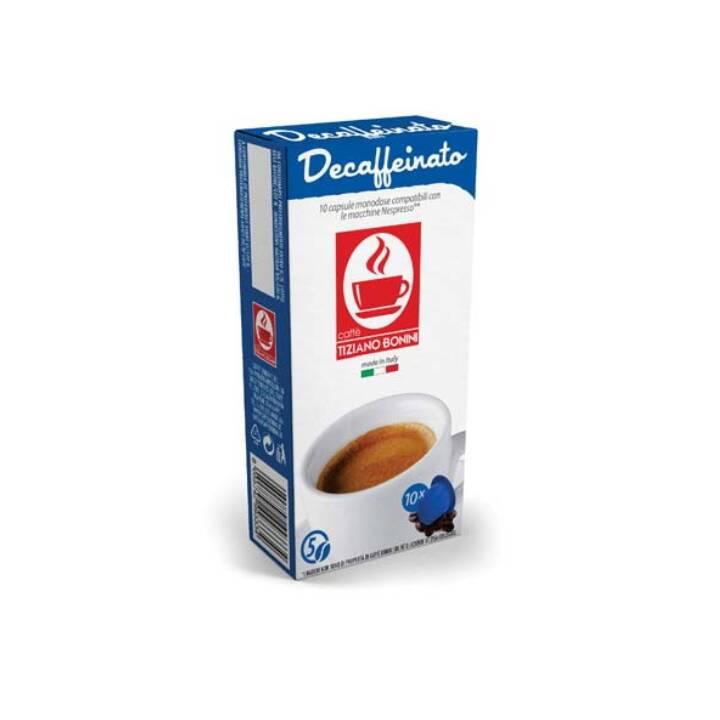 TIZIANO BONINI Kaffeekapseln Kaffee Decaffeinato (10 Stück)
