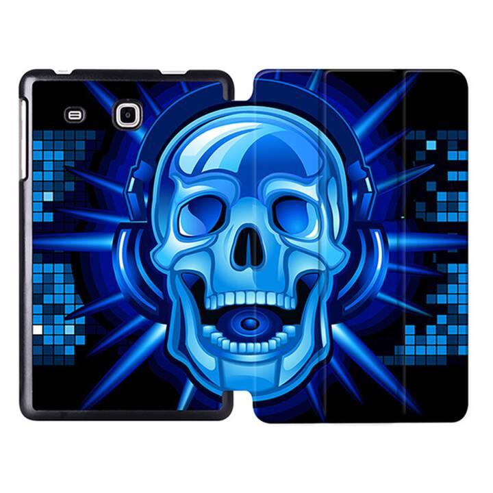 """EG MTT Sacoche à comprimés avec housse pliable Smart pour Samsung Galaxy Tab A6 7"""" A6 Tablet - Squelette"""