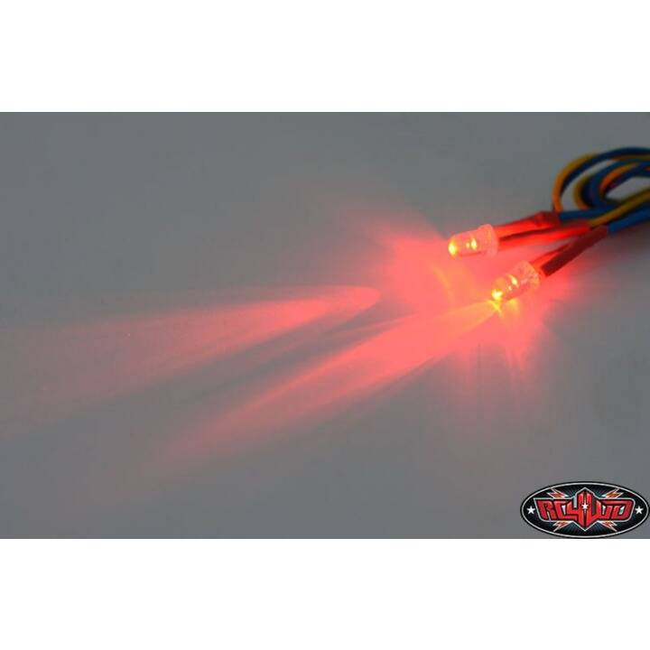 RC4WD Eclairage LED Rouge 3 mm