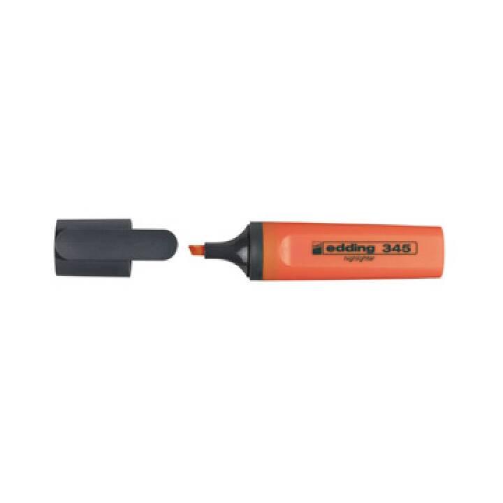 Evidenziatore EDDING 345 arancione