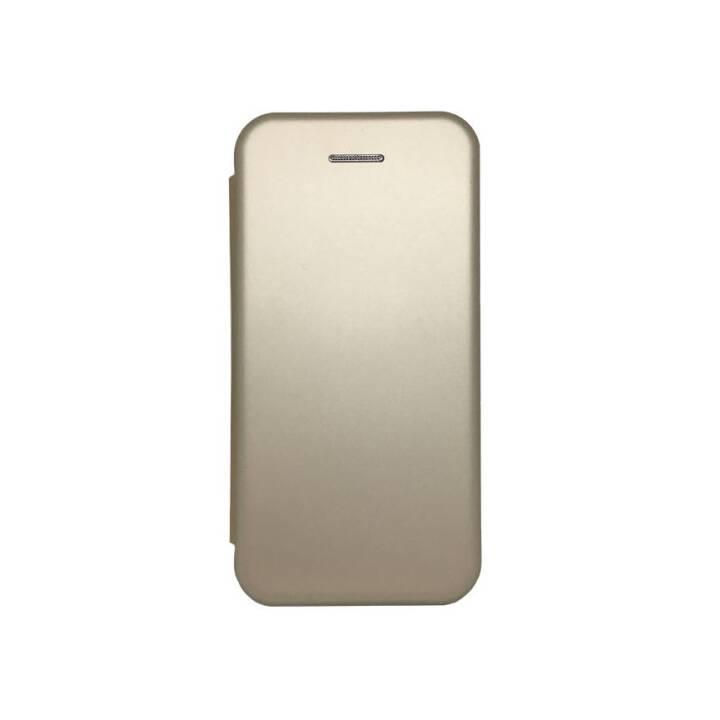 EVELATUS Flipcover Book  (Galaxy A6, Gold)