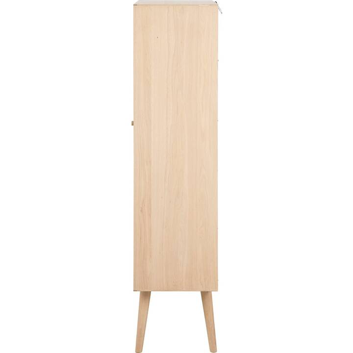CREATIVE LIVING Stavanger Vetrinette (72 cm x 36 cm x 143.2 cm, Rovere)