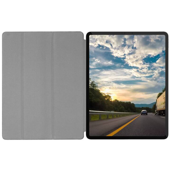 "MACALLY Bookstand Case iPad Pro 12.9"" 2020 Custodia (Nero)"