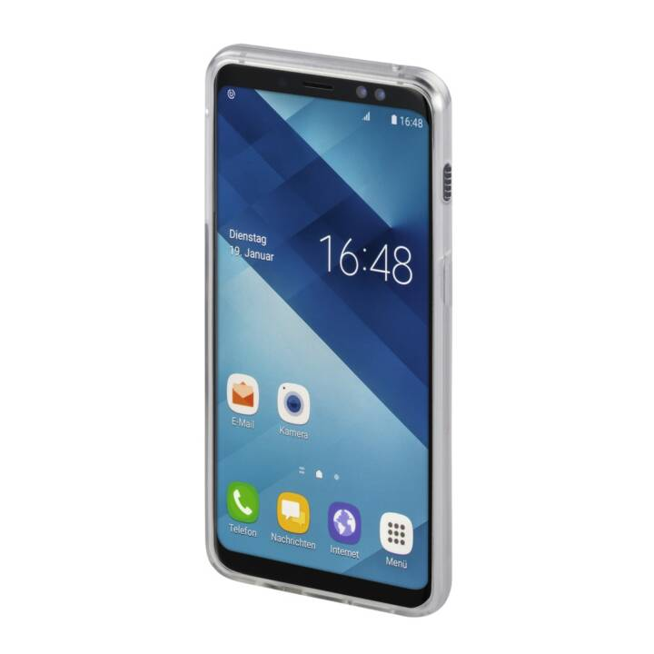 HAMA Backcover Crystal Clear (Galaxy A6+, Transparent)