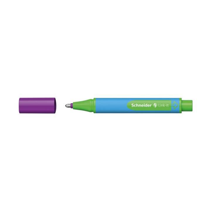 SCHNEIDER Stylo à bille Link-It Violet