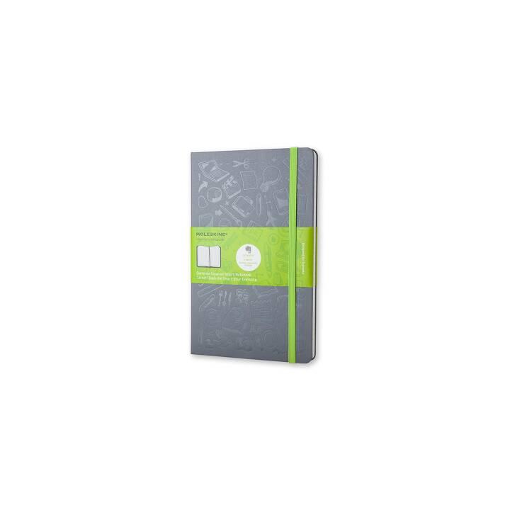 MOLESKINE Notizbuch L A5 Evernote Smart (A5, Kariert)