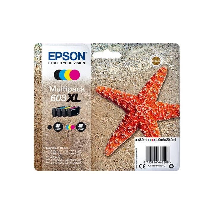 EPSON 603XL (Cyan, Magenta, Gelb, Schwarz, 4 Stück)