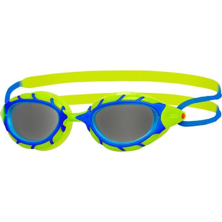 ZOGGS Schwimmbrille Predator Junior (Blau, Grün)