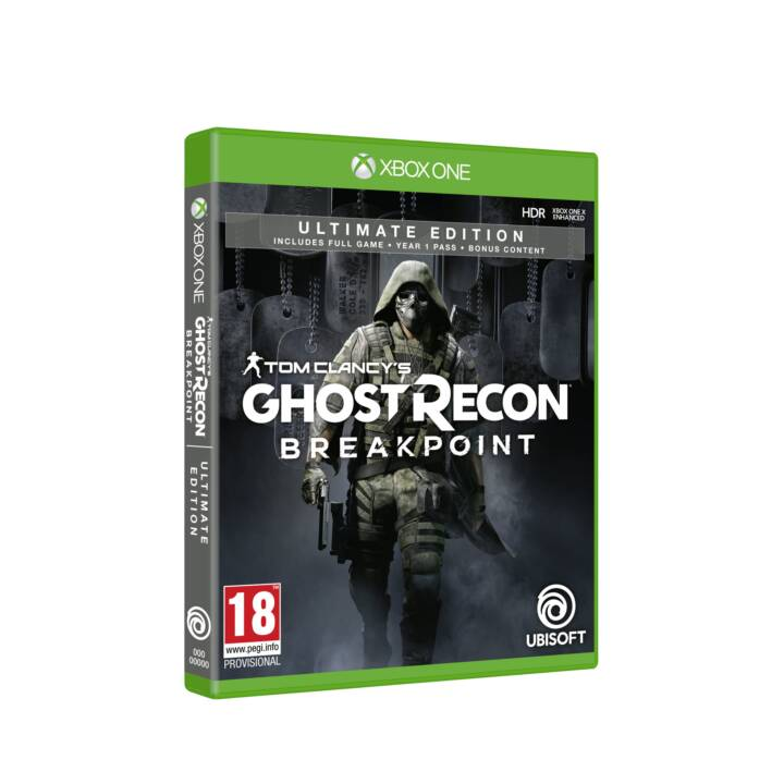 Tom Clancy's Ghost Recon: Breakpoint Ultimate Edition (DE, FR, IT)